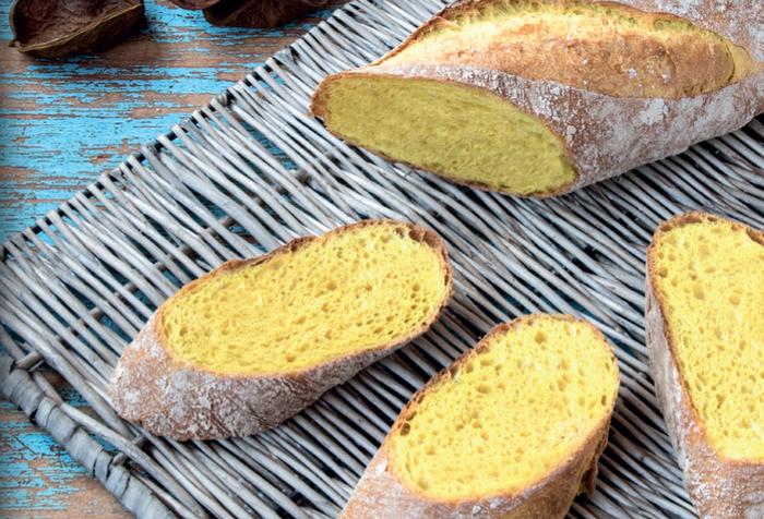 Хлеб с куркумой